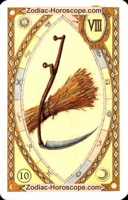 The scythe, monthly Love and Health horoscope November Virgo