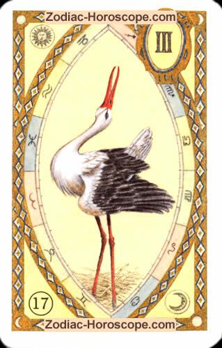 The stork Single love horoscope