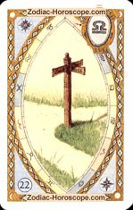 The crossroads astrological Lenormand Tarot