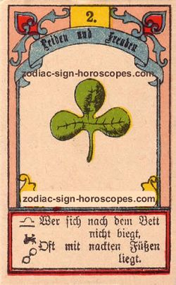 The clover, monthly Virgo horoscope October