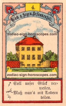 The house, monthly Virgo horoscope January