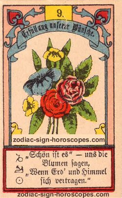 The bouquet, monthly Virgo horoscope January