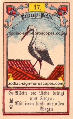 The stork, monthly Virgo horoscope October