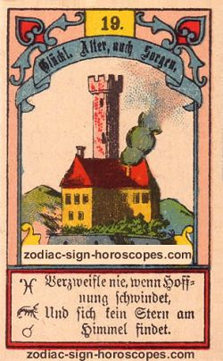 The tower, monthly Virgo horoscope January